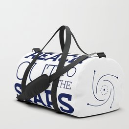 Reach Out To The Stars Duffle Bag