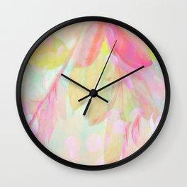 Autumn Fantasy Abstract Wall Clock