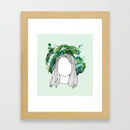 boygenius 1/3 - julien baker Framed Art Print