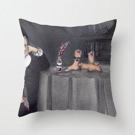 Juana de Asbaje Throw Pillow