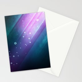 Mermaid Thoughts | Abstract Stationery Cards