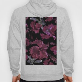 Hibiscus with black Hoody