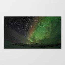The Aurora Canvas Print