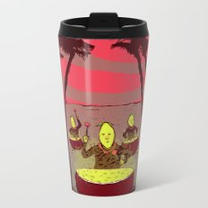 Lemon Boys Metal Travel Mug