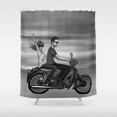 The Ride Shower Curtain