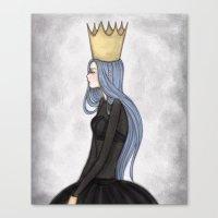 crown Canvas Prints featuring Crown by Meyyen