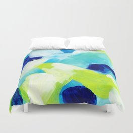 Summer brights abstract 1 Duvet Cover