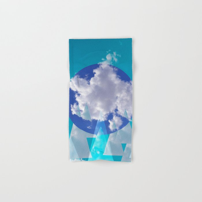 Clouds and Mountains II Hand & Bath Towel