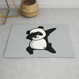 Dabbing Panda Rug