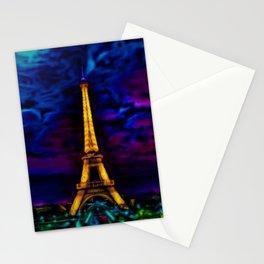 Paris Starry Night by Jeanpaul Ferro Stationery Cards