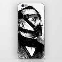 bdsm iPhone & iPod Skins featuring BDSM XXXX by DIVIDUS