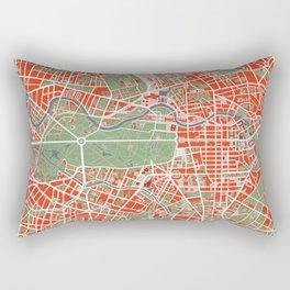 Berlin city map classic Rectangular Pillow