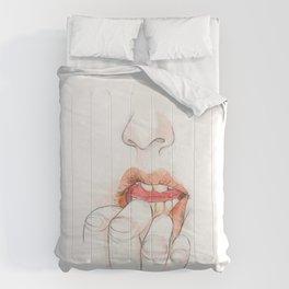 chew lips Comforters