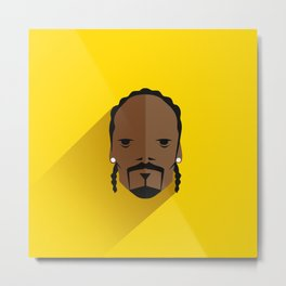 Pop Icons | Snoop Dogg Metal Print