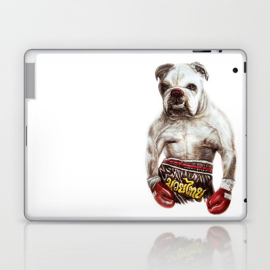 killer dog Laptop & iPad Skin