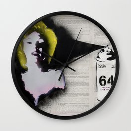 Everybody loves Norma Wall Clock