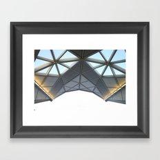 Structural Framed Art Print