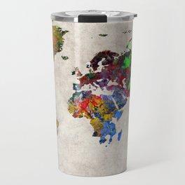 World Map 31 Travel Mug