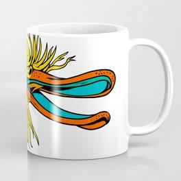 Aggressive Kiwi Bird Graffiti Color Coffee Mug