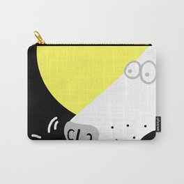 Dog Sniffing Kite by the Light of the Moon Carry-All Pouch