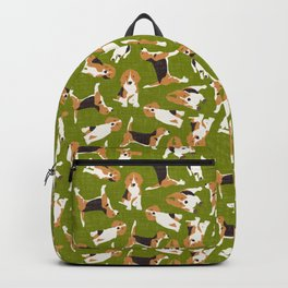 beagle scatter green Backpack