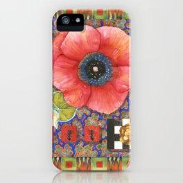Prairie Fire Poppy iPhone Case