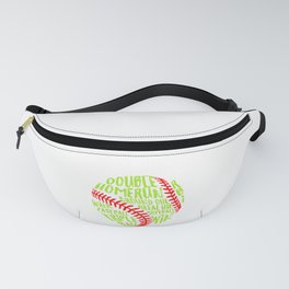 Softball Baseball Home Pitcher Catcher Ball Gift Fanny Pack