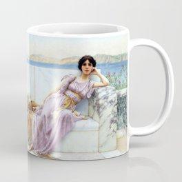 John William Godward - Eighty and eighteen - Digital Remastered Edition Coffee Mug