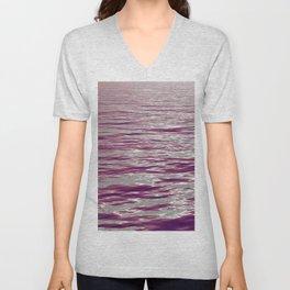 Pink Waves Unisex V-Neck
