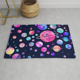 From outer space Rug