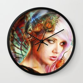 Astrid the Navigatrix Wall Clock