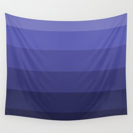 Dark Winter Blue Hues - Color Therapy Wall Tapestry