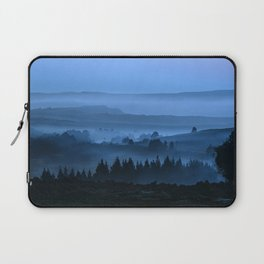 My road, my way. Blue. Laptop Sleeve