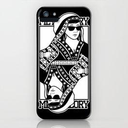 Queen card iPhone Case