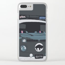 TAILGATE WAGON Clear iPhone Case
