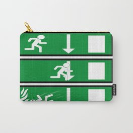 Fire Exit Funny. Carry-All Pouch