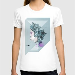 Faces Blue 02 T-shirt