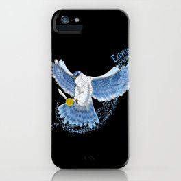 Expecto Patronum Goshawk iPhone Case