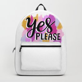 Yes Please Backpack