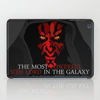 sith iPad Cases featuring sith lord by shizoy