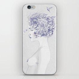 Dahlia iPhone Skin