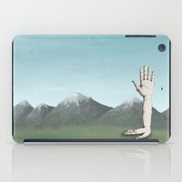 hands iPad Cases featuring Hands by Bwiselizzy
