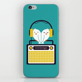 Radio Mode Love iPhone Skin