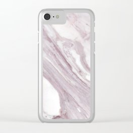 Swirl Marble Clear iPhone Case