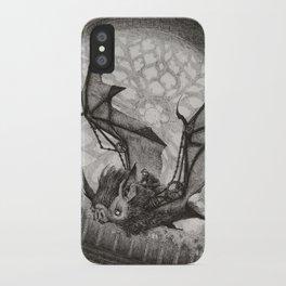 The Bat Rider  iPhone Case