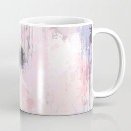 Modern Contemporary soft Pastel Pink Grey Abstract Coffee Mug