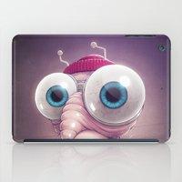 karu kara iPad Cases featuring Beanie by Dr. Lukas Brezak