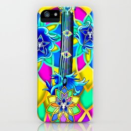 Fusion Keyblade Guitar #154 - Nightmare's End Reality Shift & Brightcrest iPhone Case