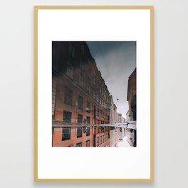 Copenhagen Reflections 4 Framed Art Print