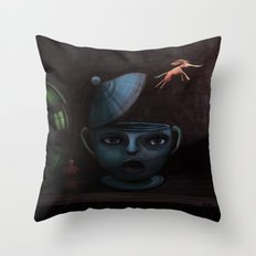Unlikely Escape. Throw Pillow